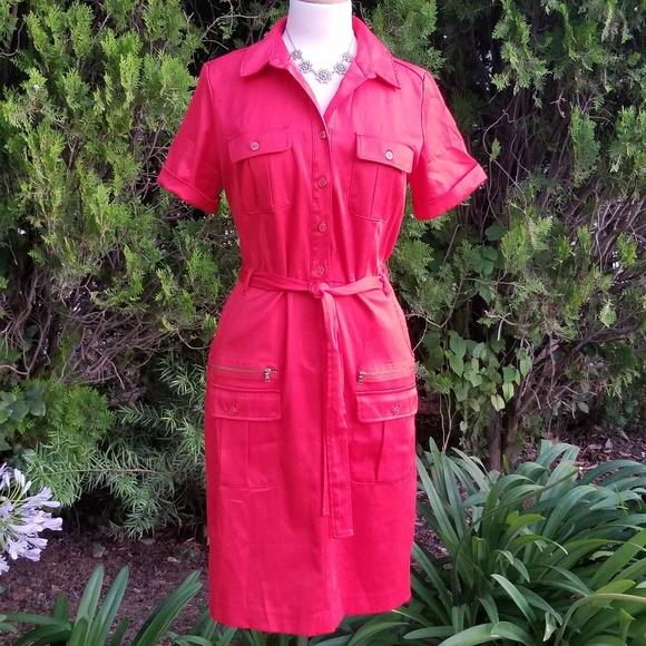 Sharagano Dresses & Skirts - Sharagano Cargo Dress